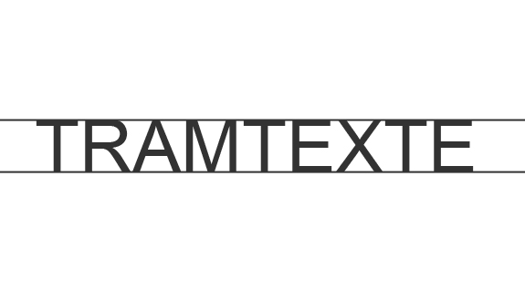 Tramtexte 09